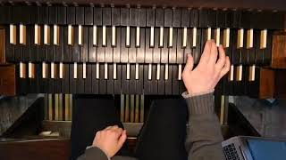 Practicing Slowly Carillon Of Westminster By Louis Vierne