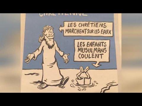 , title : 'Карикатуры Charlie Hebdo на утонувшего сирийского мальчика'