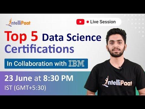 Top 5 Data Science Certifications | Best Online Data Science ...