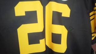 2016 Pittsburgh Steelers Color Rush Dye Sublimated Nike Legend Game Football Jersey