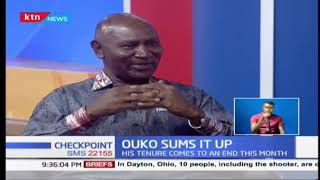 One on one with the outgoing Auditor General Edward Ouko (Part 1) |CHECKPOINT