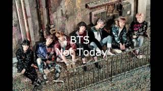 BTS Not Today (Empty Arena)