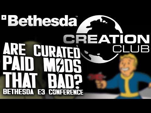 Total Biscuit's take on the Creation Club    :: Fallout 4