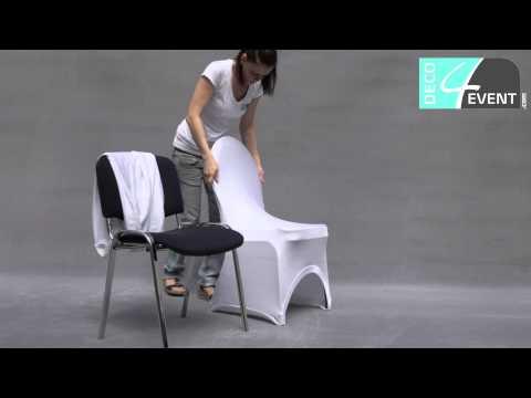 Bindetechnik Stuhlhusse Stretch