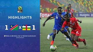 CAN U20 2021 | Groupe B : Namibie 1-1 République centrafricaine