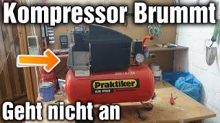Kompressor brummt nur und Baut keinen Druck auf Reparatur schnell und einfach