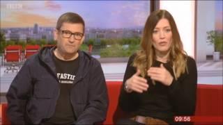 <b>Paul Heaton</b> Jacqui Abbot BBC Breakfast 2017