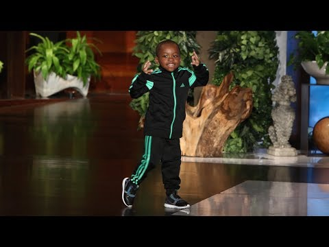 Kid Dancer Tavaris Jones Performs!