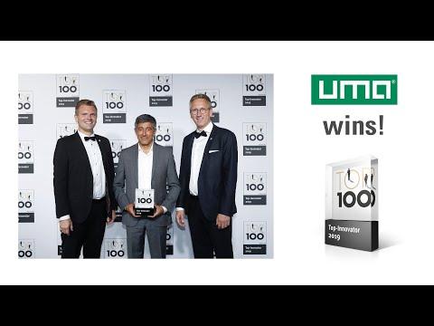 uma Schreibgeräte gewinnt TOP 100 Award