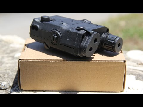 Lancer Tactical PEQ 15 Unboxing & Review - USAirsoft Reviews It!