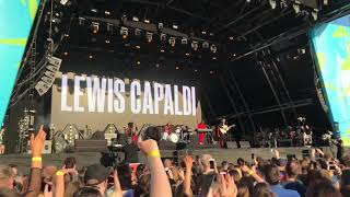 Lewis Capaldi Hold Me While You Wait Belsonic 2019