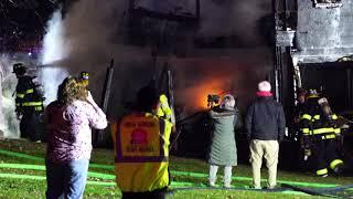 HILLSBOROUGH NEW JERSEY WORKING HOUSE FIRE 12/30/18 SOMERSET COUNTY