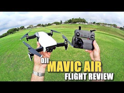 DJI MAVIC AIR Review - [Flight Test In-Depth / Pros & Cons]