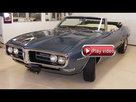 Video of 1968 Pontiac Firebird located in Columbus Ohio - $31,995.00 - Q2MS