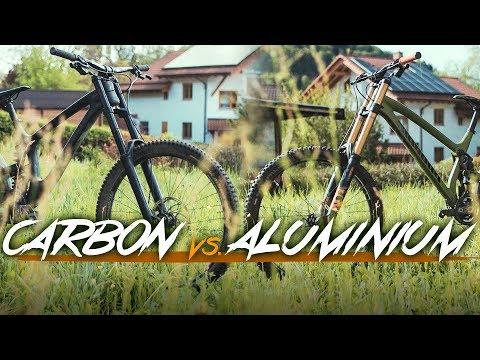 Carbon vs Alu: Downhill Vergleich - TrailTouch