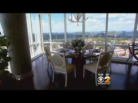 Living Large: A Penthouse Atop A Glass Skyscraper In White Plains