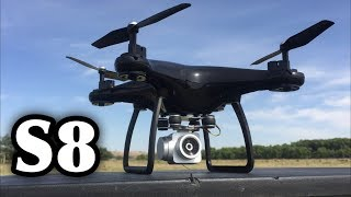 S8 wifi fpv altitude hold phone app and hard remote control drone