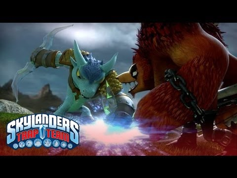 """Official Skylanders Trap Team: """"The Discovery"""" Trailer l Skylanders Trap Team l Skylanders thumbnail"""