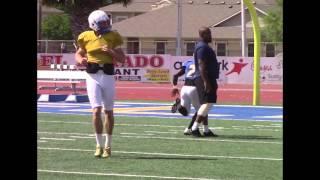 Javelina Football Scrimmage 4-8-16