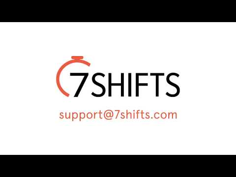 7shifts Manage Availability youtube video thumbnail