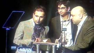 Anoop Desai at the UK Asian Music Awards 2010