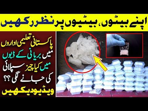 پاکستانی تعلیمی اداروں میں بریانی کے ڈبوں میں کیا چیز سپلائی کی جانے لگی؟ویڈیو دیکھیں