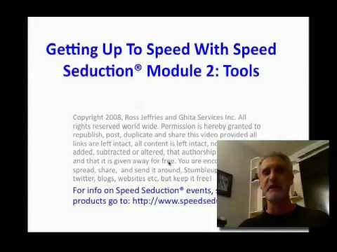 Part 2 Speed Seduction Tools