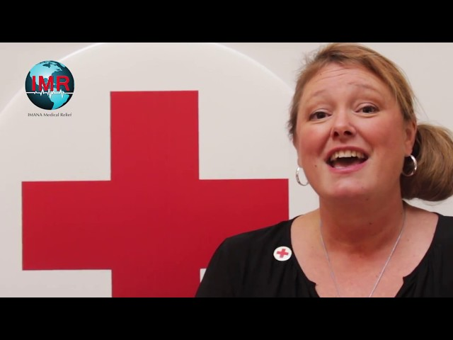 IMR Supports Red Cross