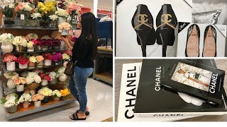 HOMEGOODS & TJMAXX SHOP WITH ME! CHANEL FINDS!! SPRING 2018