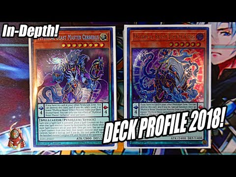 *YUGIOH* BEST! MYTHICAL BEAST DECK PROFILE! NEW PENDULUM DECK! FEBRUARY 2018! (Post Extreme Force)
