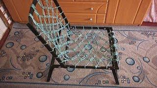 Как самому сделать кресло для рыбалки