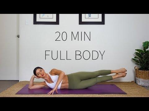 20 MINUTE FULL BODY WORKOUT | Intermediate Pilates Class