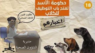 في دمشق ... الكلاب تعمل بدل موظفي
