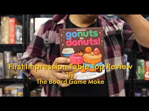 First Impression Table Top Review: Go Nuts For Donuts