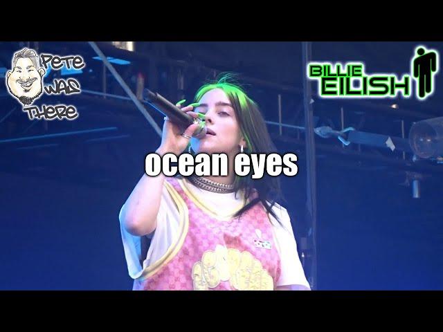 Billie Eilish - ocean eyes (ACL Music Fest, Austin, TX 10/12/2019) HD