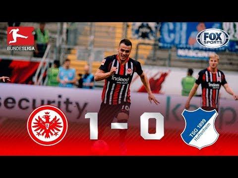 DOMÍNIO COMPLETO? Veja os lances da partida entre Eintracht Frankfurt 1x0 Hoffenheim