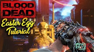 """BO4 Zombies - """"BLOOD OF THE DEAD"""" Full Easter Egg Walkthrough Guide Tutorial! (Extremely Detailed)"""
