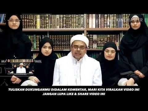 HABIB RIZIEQ MENJAWAB FITNAH YNG MENYEBAR DI INDONESIA, BAHWA BELIAU DI TANGKAP POLISI ARAB