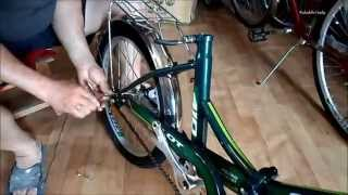 Велосипед Stels pilot . Сборка из коробки(rg)