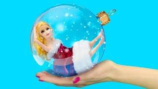 14 новогодних лайфхаков для куклы Барби!