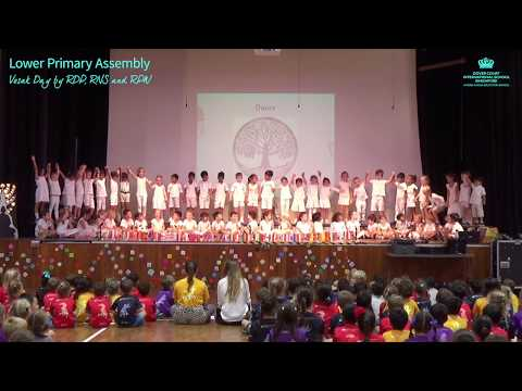 Lower Primary Assembly - Vesak Day by RDP, RNS and RPW