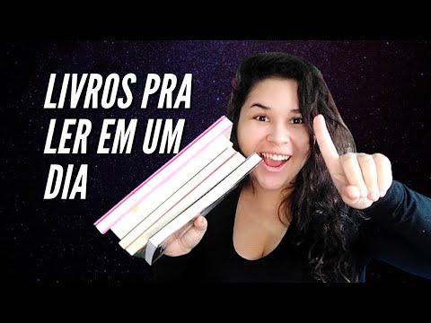 LIVROS PARA LER EM UM DIA: CURTOS E PERFEITOS! TOP 5 | A Garota do Livro