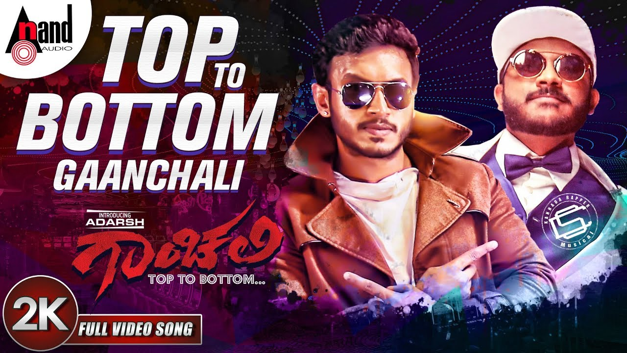 Top To Bottom Gaanchali​ lyrics - Chandan Shetty - spider lyrics