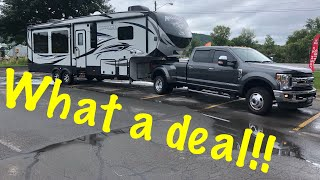 2017 keystone Avalanche 300RE 5th wheel Tour