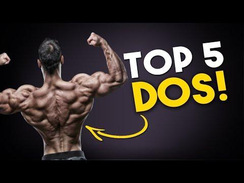 Vidéo du bodybuilding naturel