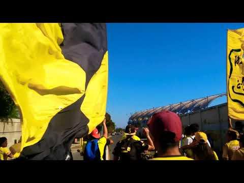 """Ultra Kanaria Llegando Al Estadio"" Barra: Ultra Kanaria • Club: San Luis de Quillota"