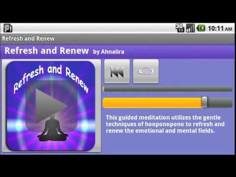 Video of Refresh and Renew Meditation