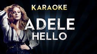 Adele - Hello | Official Karaoke Instrumental Lyrics Cover Sing Along