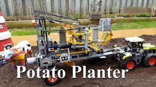 Potato Planter Lego Technic 42054 Claas Xerion 5000 Trac VC