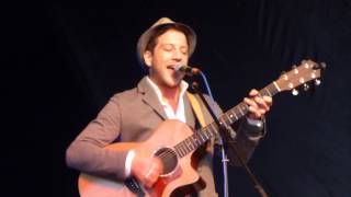 Matt Cardle - Hit My Heart - Acoustic Festival of Britain - Uttoxeter - 30.5.14